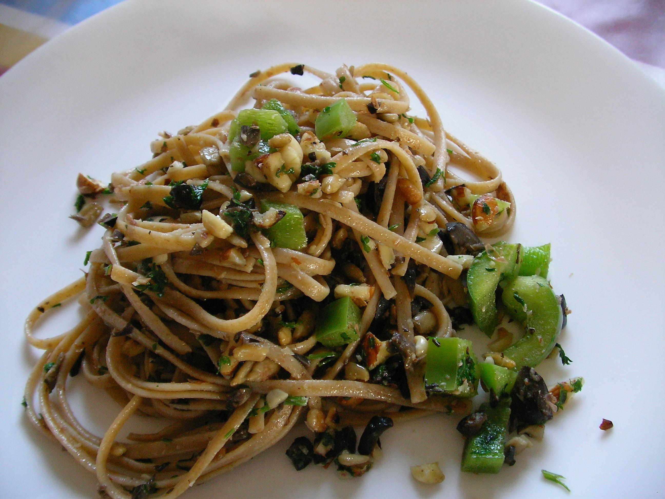 Spaghetti fantasy fasting pasta orthodox fasting recipes for American wholefoods cuisine
